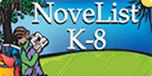 NoveList K-8 Plus Linked Logo