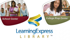 School Center from Learning Express Library Linked Logo