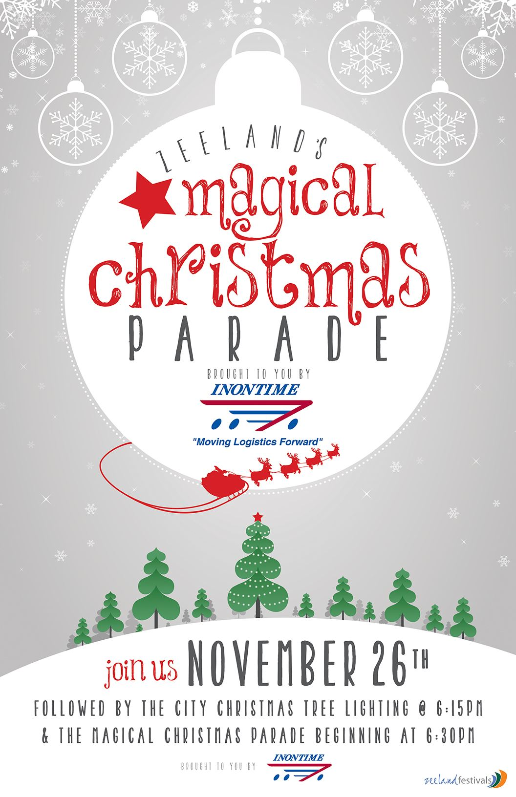 Magical Christmas Parade & Tree Lighting Ceremony | Zeeland, MI