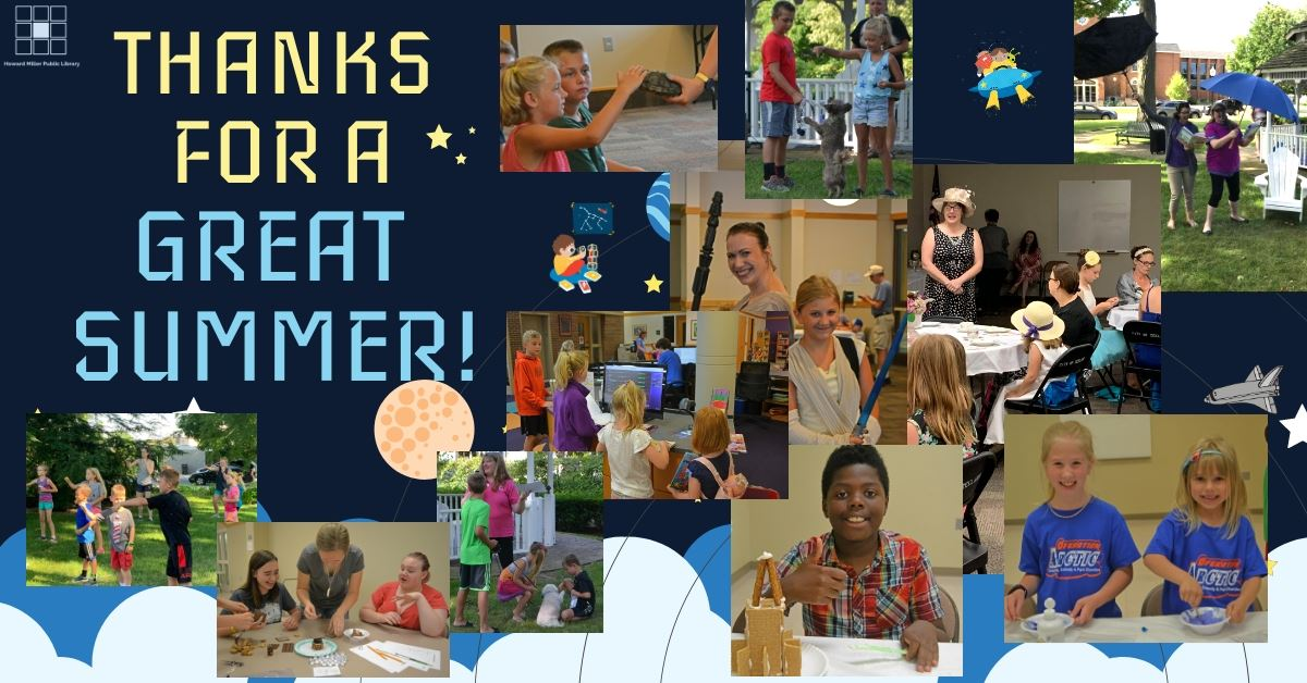 Thank you for a great summer reading 2019 with 11 photos taken during summer reading