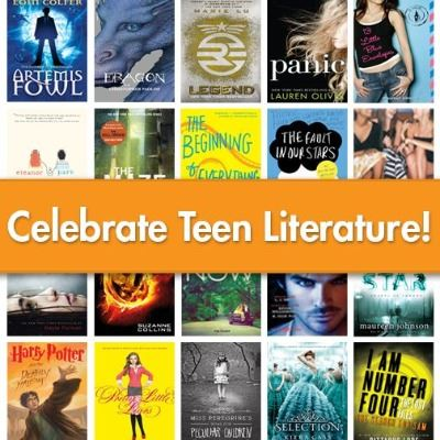 OverDrive Teen Literature Web Collage