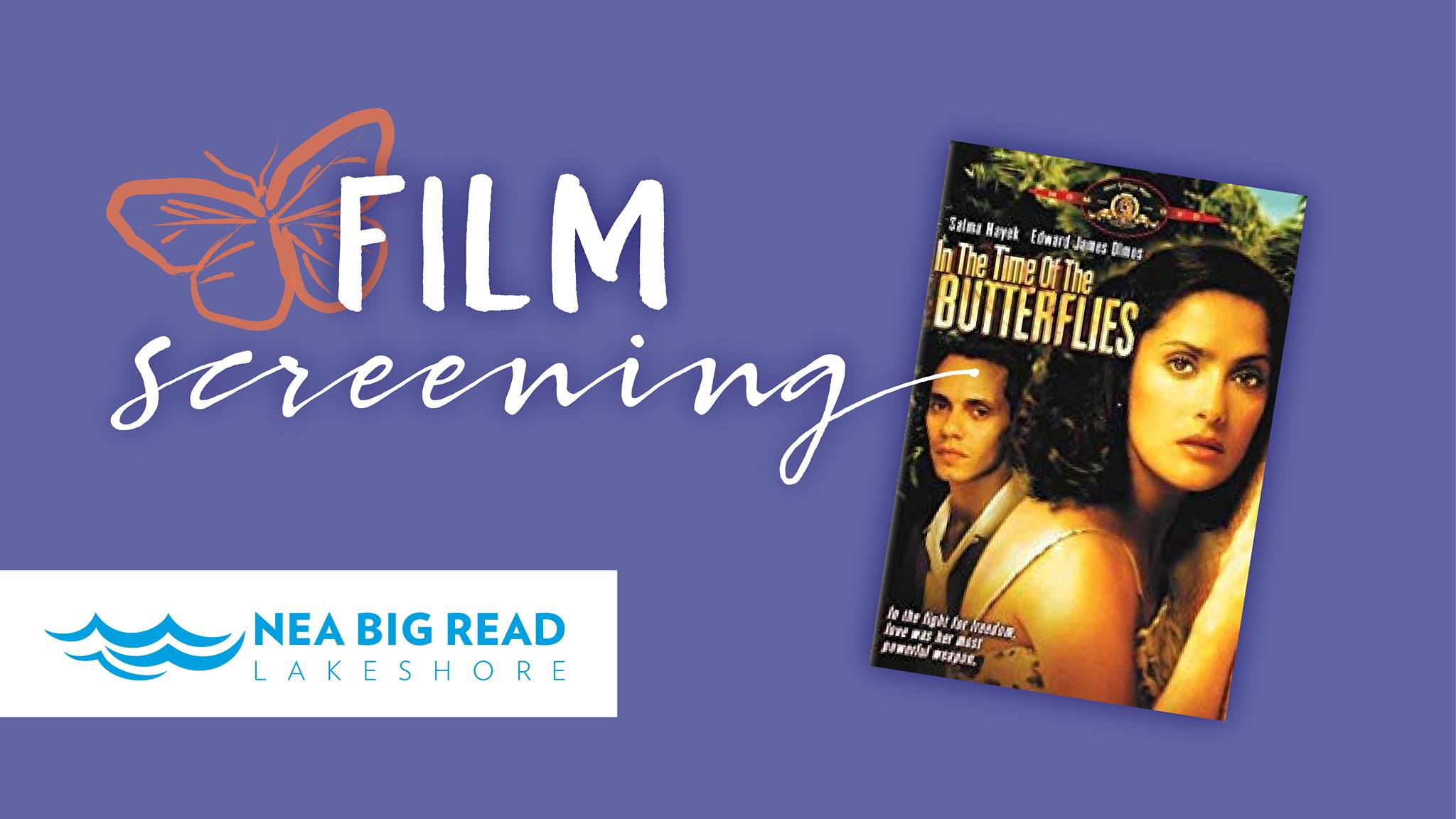 Film Screening of NEA Big Read Film Adaptation of In the Time of Butterflies