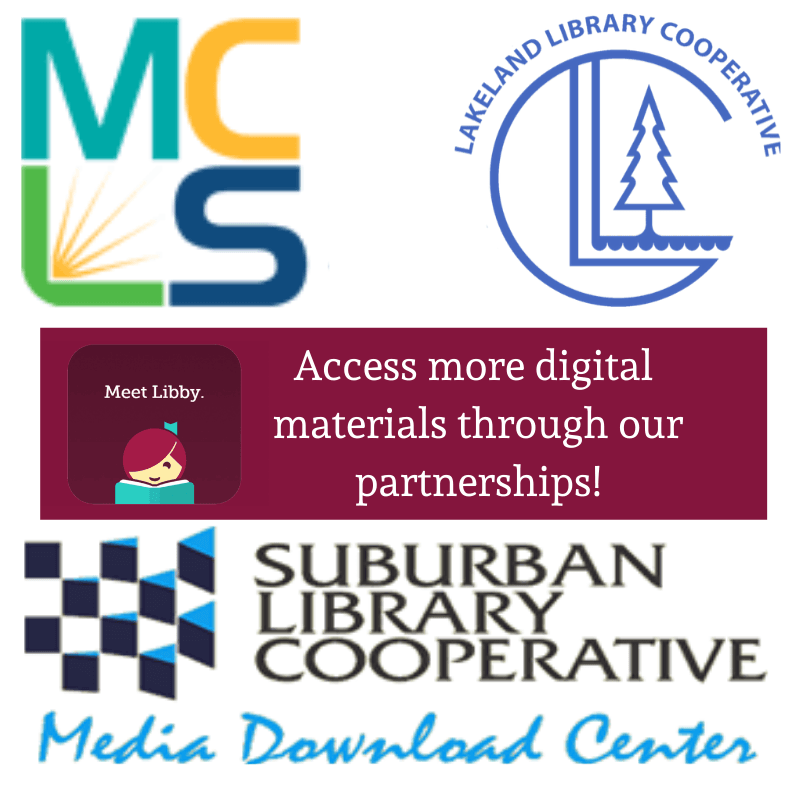 Access more digital materials with our OverDrive Partnerships!